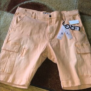 New LRG Lifted Research Group Cargo Shorts
